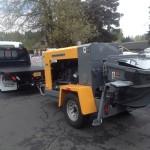 2014 Isuzu Flatbed & 2014 Putzmeister TK40 Concrete Line Pump w/Shotcrete