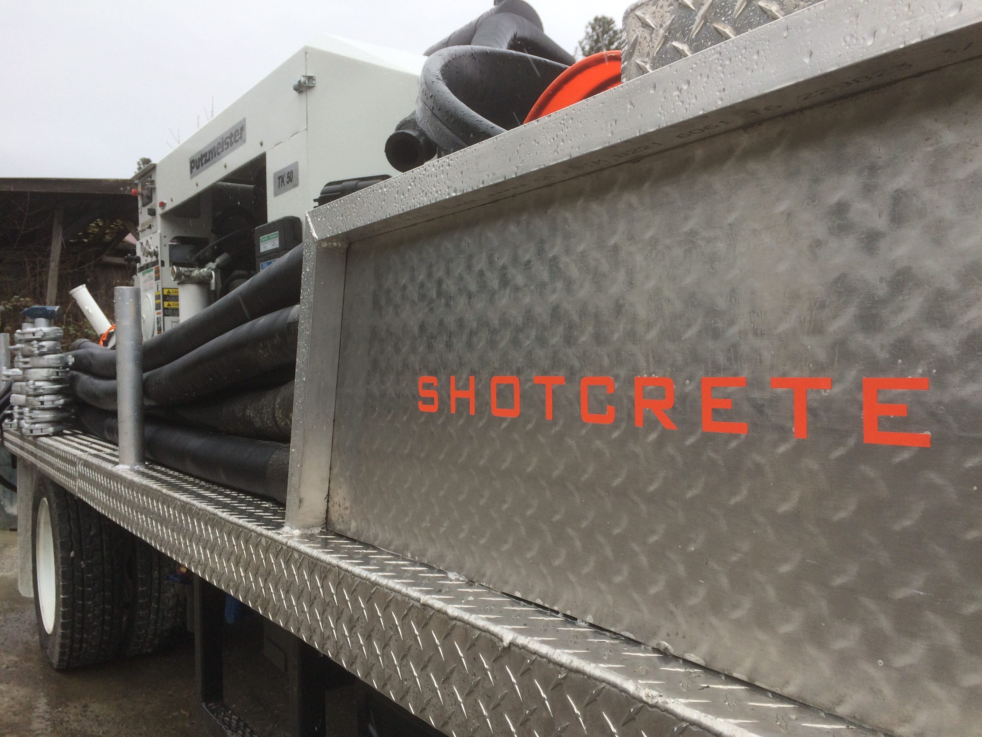 Shotcrete Services in Portland, Oregon